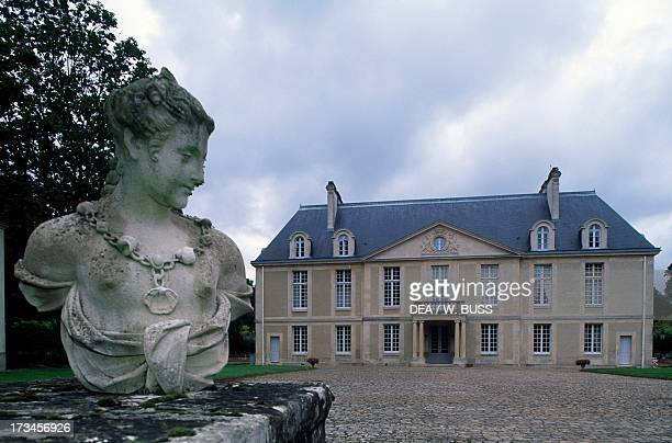 Louvois Castle ancient abode of Michel Le Tellier minister of Louis 14th ChampagneArdenne France