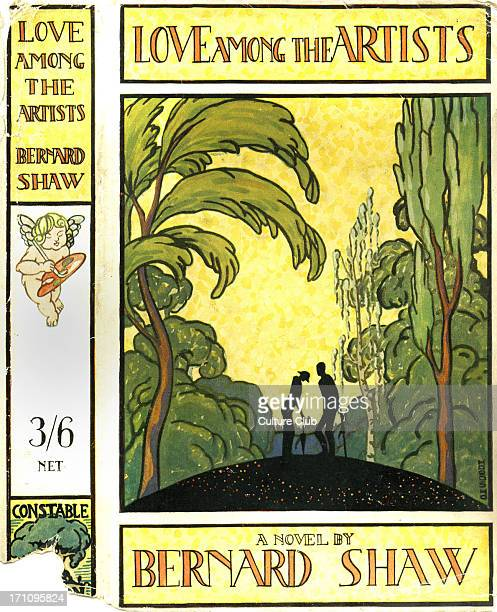Love among the Artists by George Bernard Shaw Book cover Published London Constable 1924