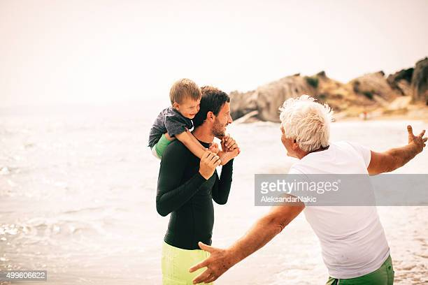 Amor e desvelo através de gerações