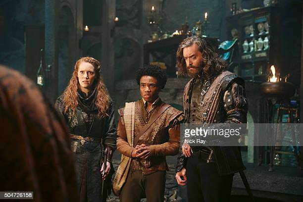 GALAVANT 'Love and Death' Richard Roberta and Sid rush the fatally wounded Galavant to a healer named Neo of Sporin who has a magic potion that could...