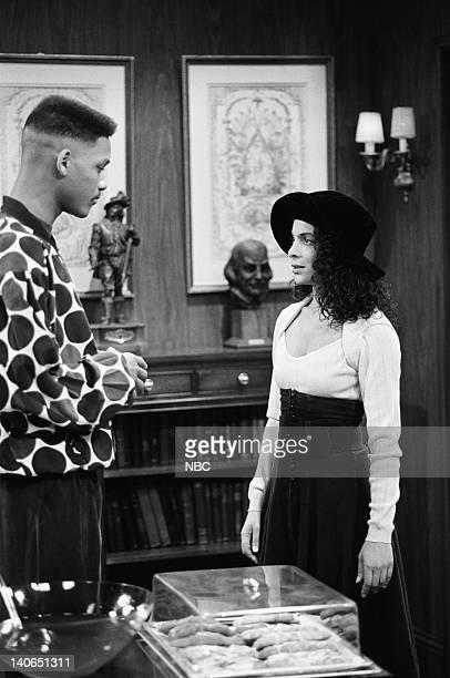 AIR 'Love at First Fight' Episode 21 Pictured Will Smith as William 'Will' Smith Jasmine Guy as Kayla Samuels Photo by Alice S Hall/NBCU Photo Bank