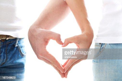 Love between us : Stock Photo