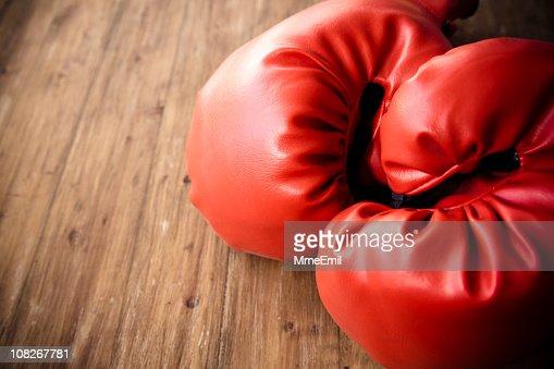 I Love boxe : Stock Photo
