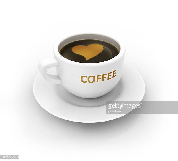 Liebe Kaffee cup