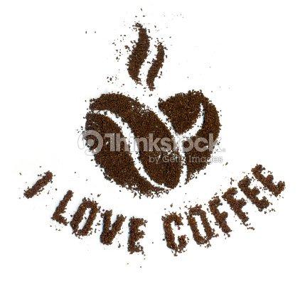 I Love Coffee Stock Photo Thinkstock