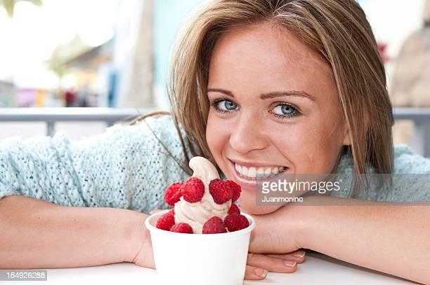 Ich liebe Gefrorener Joghurt
