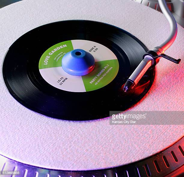 Love Garden a record store since 1990 in Lawrence Kansas has been a record label since 2008 producing the vinyl 45 single by the band Ad Astra per...
