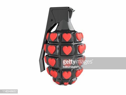 Amore grenade : Foto stock