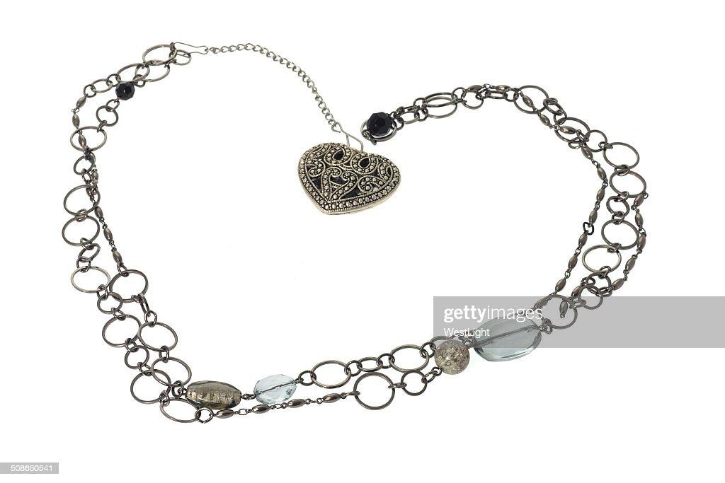 Love Heart Pendant : Stock Photo