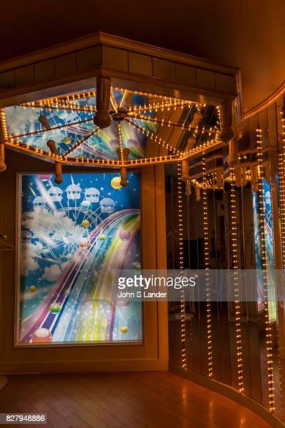 Love Hotel Interior at Public Jam Hotel Osaka Originally love hotels were merely places for couples to meet up in crowded cities where they had no...
