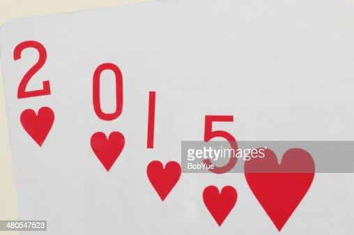 Amor en 2015 : Foto de stock