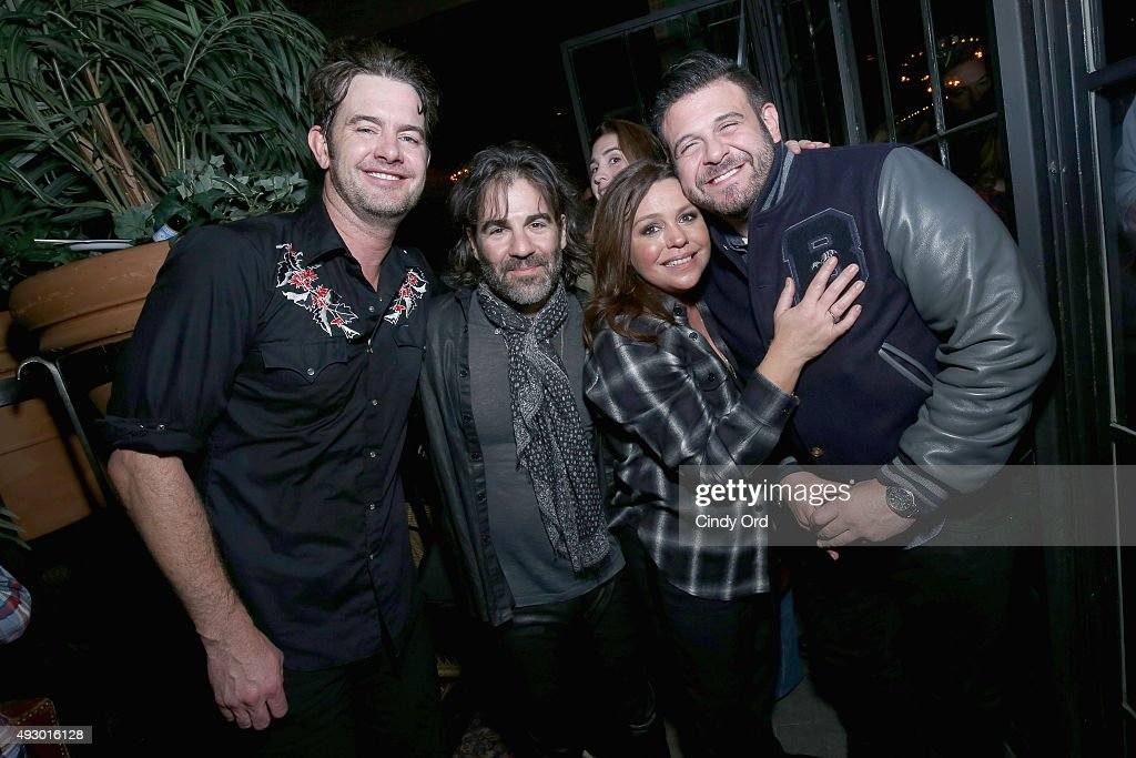 G Love John Cusimano Rachael Ray and Adam Richman attend Rachael Ray's Feedback Chefs and Cocktails part of Mohegan Sun's Late Night Party Series...