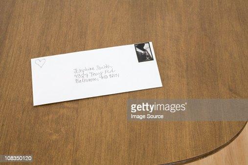 Love letter : Stock Photo