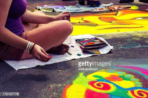 Love Local : Lake Worth Florida Street painting festival