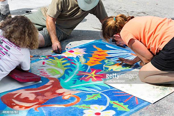 Love Local : Lake Worth Florida Street painting festival