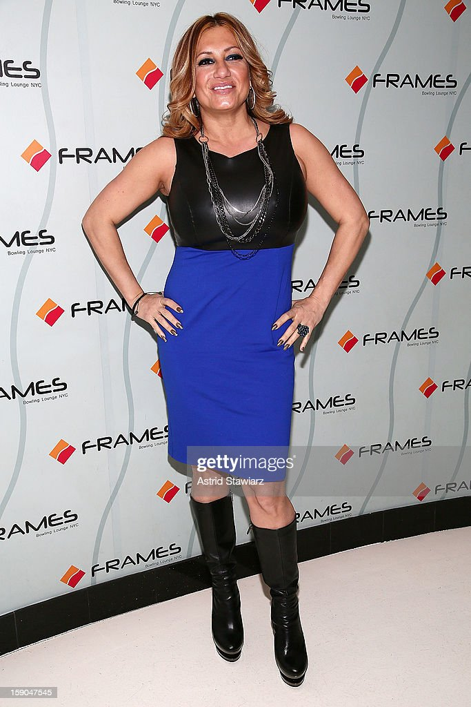 Love Majewski attends VH1's 'Mobwives' Season 3 Premiere Viewing Party at Frames Bowling Lounge on January 6, 2013 in New York City.