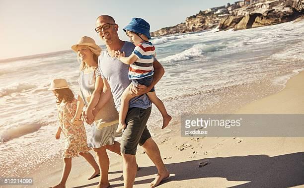 Ich liebe meine Familie wie das Meer lieben die Aufnahme