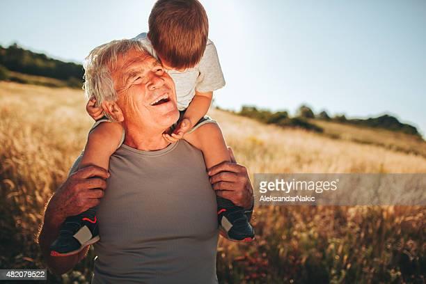 Ich liebe mein Großvater