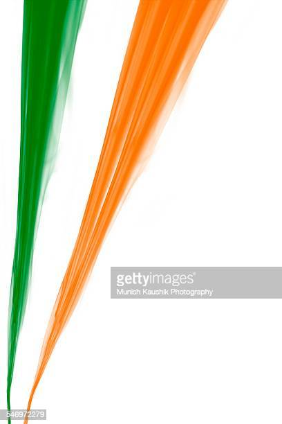 I love my India, India Flag color,created by smoke