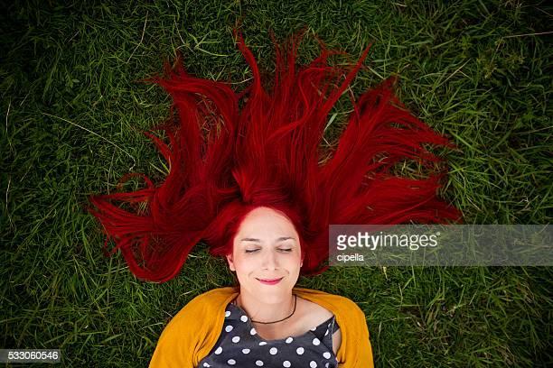 Love my red hair