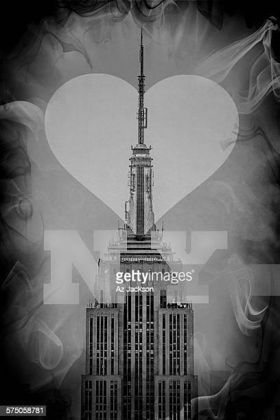 Love New York B&W