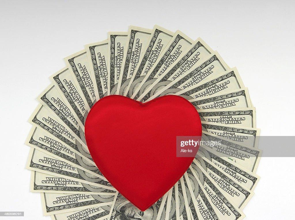 love of money : Stock Photo