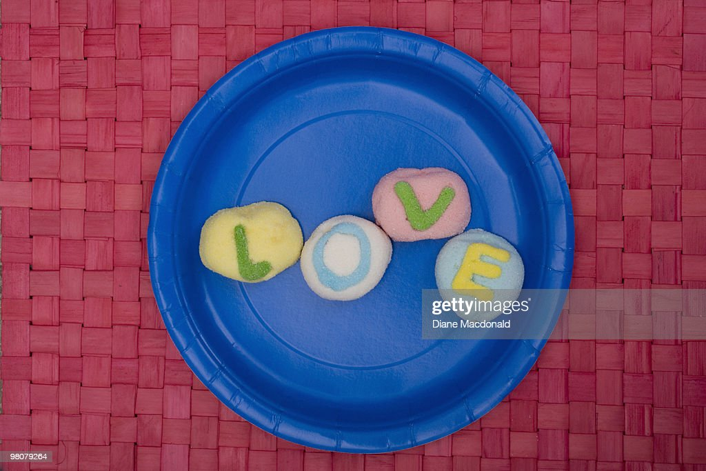 Love on a paper plate