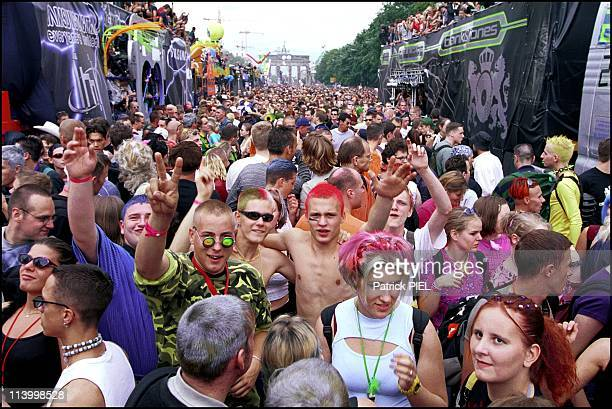 Love Parade 2000 In Berlin Germany On July 09 2000