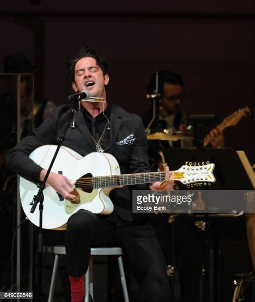 G Love performs at The Music of Aretha Franklin show at Carnegie Hall on March 6 2017 in New York City