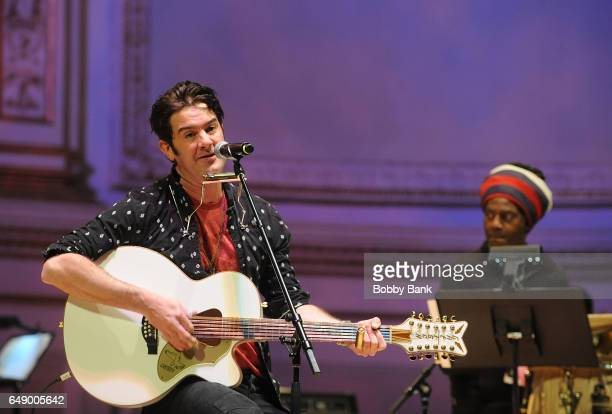 Love performs at The Music of Aretha Franklin soundcheck at Carnegie Hall on March 6 2017 in New York City