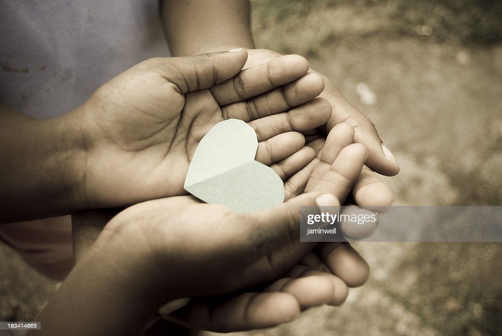 love; precious moments and matters of the heart : Stock Photo