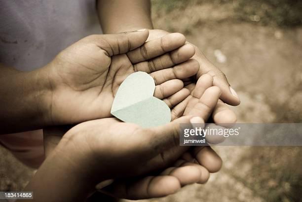 Liebe, kostbaren Augenblicke und fragen von Herzen