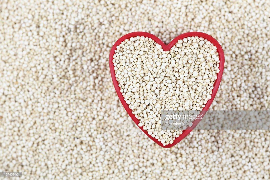 I love Quinoa : Stock Photo