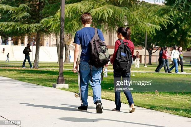 Love School Northridge California CSUN Heterosexual Couple