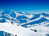 I love skiing in Powder snow XXXL