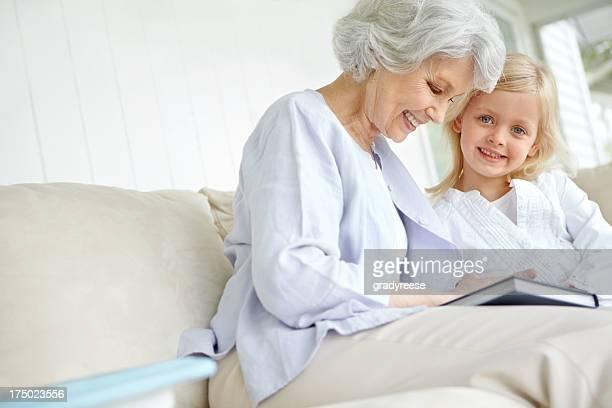 Ich verbringe gern Zeit mit granny