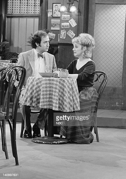 TAXI 'Love UnAmerican Style' Episode 1 Aired 9/30/82 Pictured Andy Kaufman as Latka Gravas Carol Kane as Simka DahblitzGravas Photo by NBCU Photo Bank