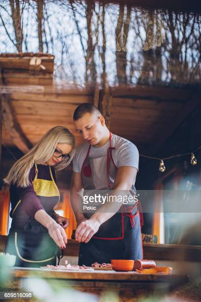 Love weekend cooking together