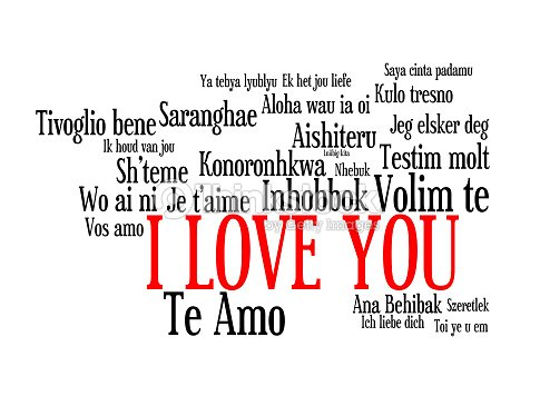 Love words i love you in different languages of theworld stock photo love words i love you in different languages of theworld stock photo thecheapjerseys Images