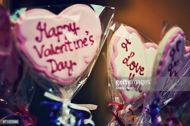 I Love You Cookie Lollipop