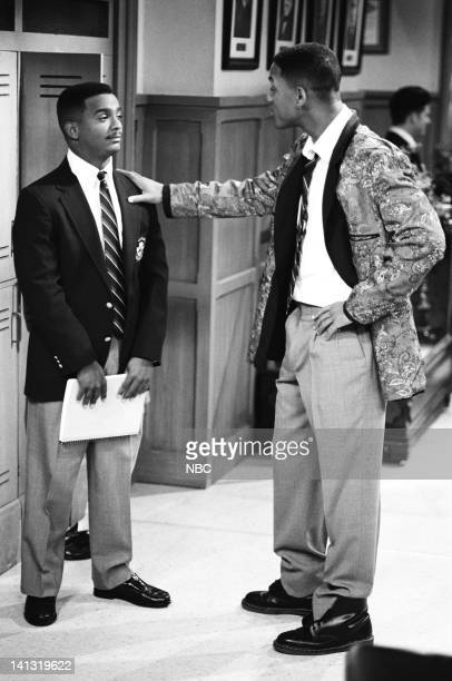 AIR 'PS I Love You' Episode 6 Pictured Alfonso Ribeiro as Carlton Banks Will Smith as William 'Will' Smith  Photo by Chris Haston/NBCU Photo Bank