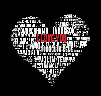 I love you words in different languages of the world stock photo i love you words in different languages of the world stock photo thecheapjerseys Choice Image