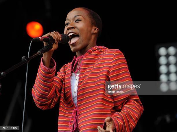 Lovebox Festival Victoria Park London Britain 19 Jul 2009 Rokia Traore