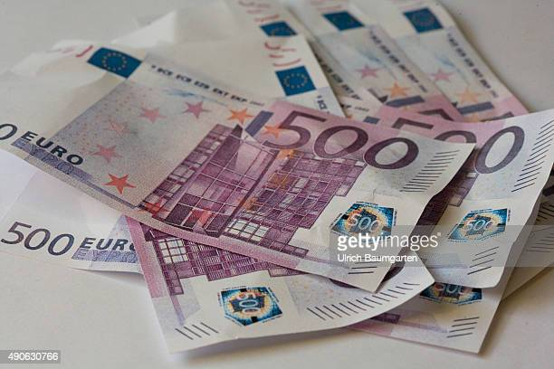 Loved or unloved 500 Euro banknotes