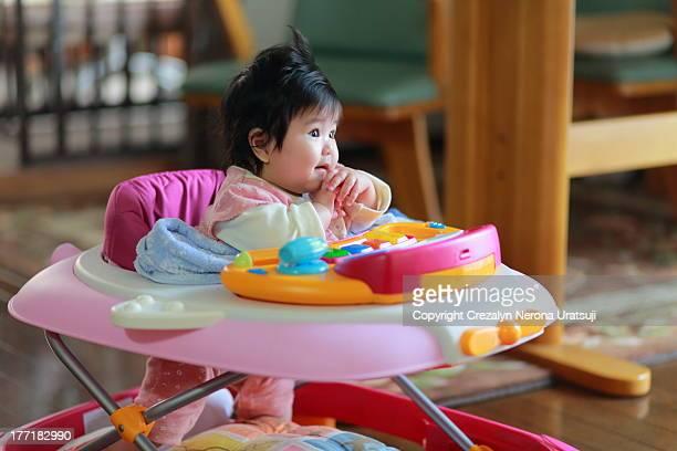 Lovely Baby Wondering