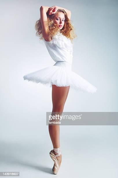 Une ballerine en tutu
