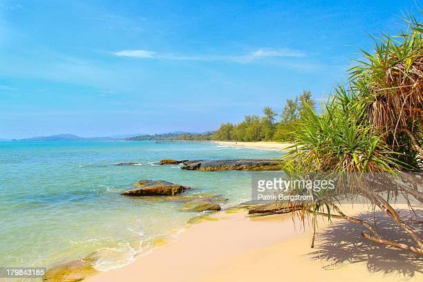 Lovely Beach in Ream National Park