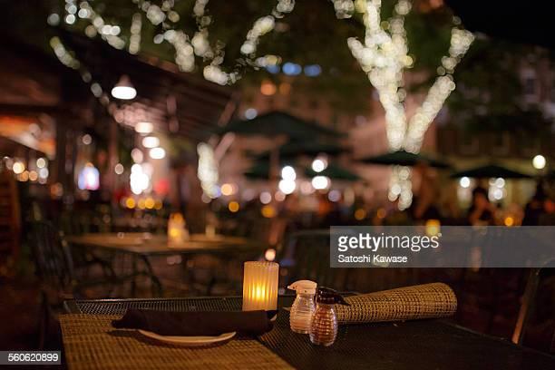 Lovely dinner at open terrace