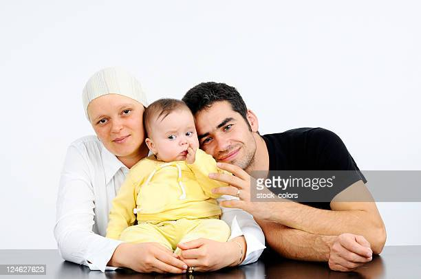 lovely family and breast cancer fight
