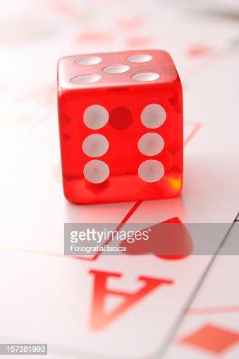 Lovely gambling : Stock Photo